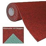 HAVATEX Kunstrasenteppich mit Noppen Rot