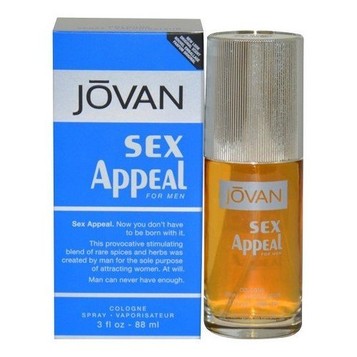 Men's Jovan Sex Appeal by Jovan Eau de Cologne Spray - 3 oz