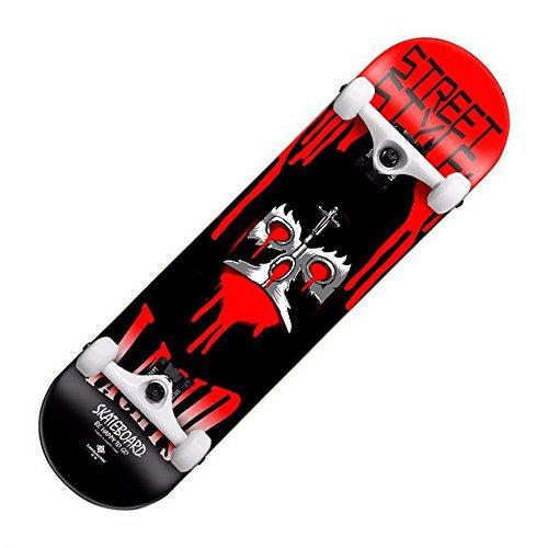 Mini-Cruiser-Penny-Skateboard Cruiser Complete Skateboard Professional Kurzes Board Canadian Maple Deck Entwickelt für Kinder, Jugendliche und Erwachsene Für Kinder, Jugendliche, Erwachsene