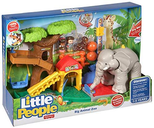 Fisher Price Big Animal Zoo - Sets de Juguetes (Animal, Niño/niña,...