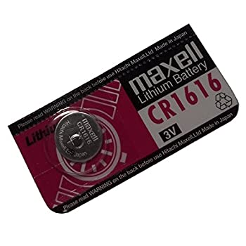 Maxell Replacement CR1616 3V Battery