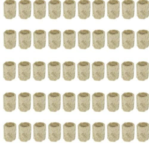 EElabper Crecer complemento de Medios de Arranque Cubos de Lana de Roca Planta hidropónica Propagación trasplante Base de semillero y Herramientas del Suelo Jardín Bloque