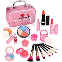21-Pieces Biulotter Kids Cosmetics Make Up Kit with Cute Cosmetic Bag