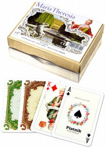 Piantik - Playing Cards Maria Theresia