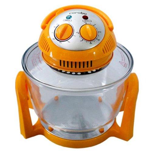 Coo-Fun エアーフライもできるカーボンコンベクションオーブン corobo(オレンジ) CKY-19QO