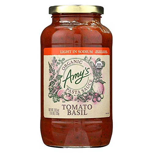 AMY's PST Sce, Og2, Tomaten-BSL, Ls, 6er-Pack, Größe 65,5 OZ, glutenfrei Vegan Hefe 95%+ Bio