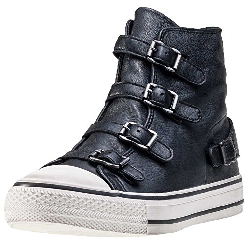 ASH Damen Natives High Top-Trainer UK 5 Black