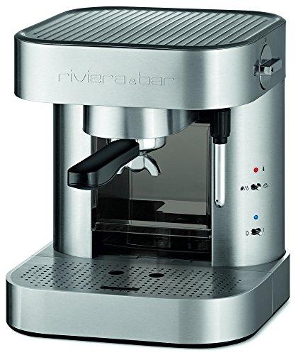 Riviera & Bar CE342A - Cafetera de espresso manual, color gris