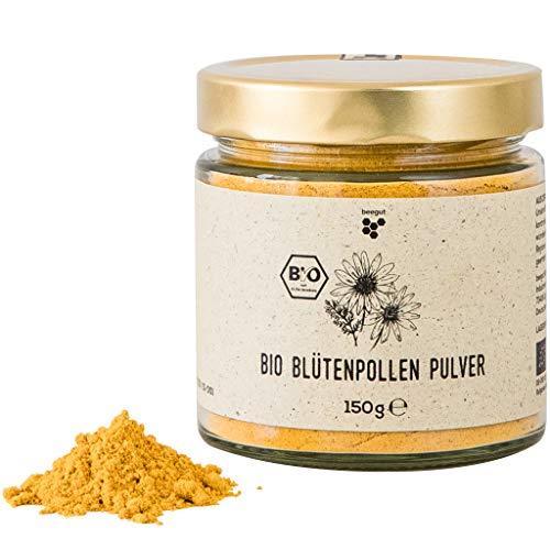BIO Blütenpollen Pulver, 150g gemahlene Blütenpollen vom BIO Imker aus Bulgarien, nachhaltige Verpackung