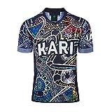 YINTE 2020 Maillot De Rugby De Camouflage Indigène, T-Shirt D'entraînement De Polo De Rugby Indigène De Nouvelle-Zélande, T-Shirt De Football De Supporter, Maillot De Pro B-XL