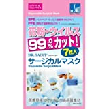 ドクターサチ サージカルマスク レディース&ジュニアサイズ(7枚入)