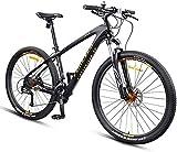 Bicicletas de Montaña 27,5 pulgadas marco de fibra de carbono de doble suspensión de la bici de montaña for adultos, for los deportes al aire libre Ciclismo Trabajar el cuerpo Viaje y los desplazamien