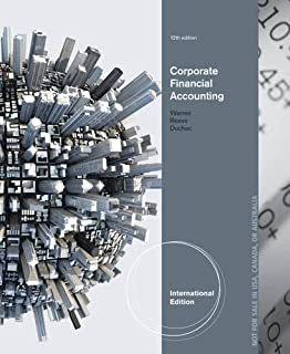 Corporate Financial Accounting, International Edition