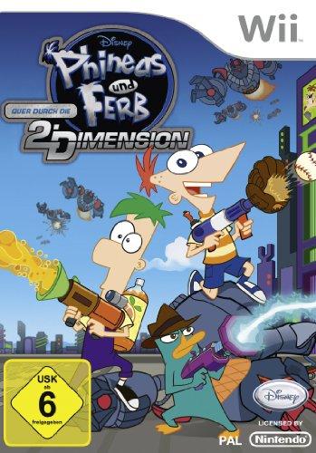 Phineas & Ferb Quer durch die 2. Dimension
