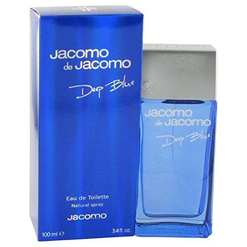 Jacomo Deep Blue by Jacomo Men's Eau De Toilette Spray 3.4 oz - 100% Authentic