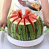 Wassermelone Schneide 38,1cm Edelstahl groß Fruit Melone Schneide Cutter Schäler Entkerner...