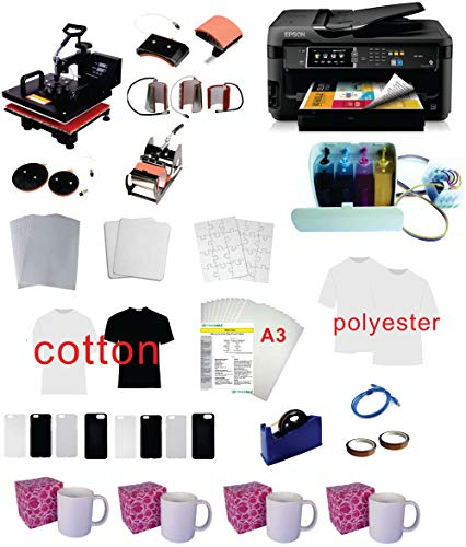 Pro Sublimation 15'x15' 8in1 Heat Press...