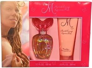 Mariah Carey M Luscious Pink Women Giftset (Eau De Parfum Spray, Moisturizing Body Lotion)