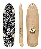 Comet Skate Skateboard Longboard ETHOS 36 Black/White