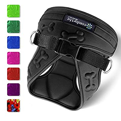 metric usa / Comfort Fit Pets No Pull Small Dog Harness Vest ? Easy to Put on & Take Off ? Soft Padded Interior & Exterior Puppy Harness ? Ensures Your Dog is Snug & Comfortable