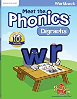 Meet the Phonics - Digraphs Workbook 1935610309 Book Cover