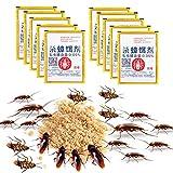 SHYEKYO Potente Cebo eficaz para Matar cucarachas Que Mata plagas Cebo en Polvo Cebo Plaga Cocina para baño