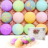 🛁Safe Ingredients: The bath bombs ball is made of organic,natural,safe, mild,materials, such as sea salt, essential oils, citric acid, etc., without artificial flavor.It will not have any irritation or adverse reactions on your body and can help your...