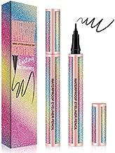 KINGMAS Liquid Eyeliner, Black Waterproof Eye Liners Long-Lasting Super Slim Makeup Eyeliner Pen Gel