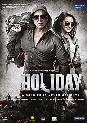 Holiday Hindi DVD (Akshay Kumar, Sonakshi Sinha) (Bollywood/Indian Cinema/Film/2014 Movie)