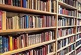Fondos de fotografía de Libros de estantería Interior de Biblioteca Fondos fotográficos para Estudio fotográfico A9 5x3ft / 1,5x1m