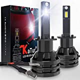 KaTur H1 Led Headlight Bulbs Mini Design Upgraded...