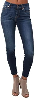 7 For All Mankind Women's B(Air) Ankle Skinny Jeans in Fate