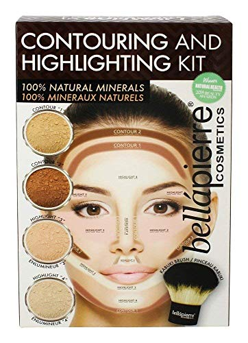Bellapierre Cosmetics Contouring and Highlighting Kit - 5 Piece Set - Retail Packaging by Bella Pierre