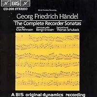 Handel: Complete Recorder Sona by GEORGE FRIDERIC HANDEL (1994-03-25)