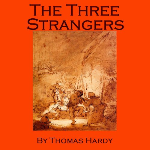 The Three Strangers audiobook cover art