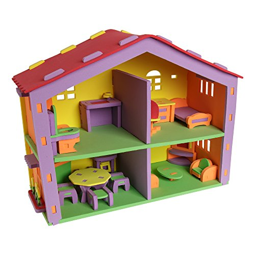 School Outfitters SPG-ATN1058-SO Sprogs Doll House EVA foam puzzel