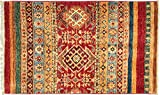 RUG PRINCE Alfombra afgana Ziegler Khorjin 70 x 90 cm, tejida a...