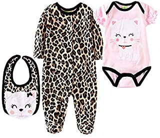 """Tatu Reborn Baby Dolls Clothes for Girl 22-23"""" 55-58cm Realistic Girl Doll Clothes 3 Pieces Set"""