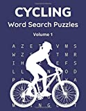 Cycling Word Search Puzzles (Volume 1): Trivia Puzzle Book with Solutions for Adults and Teenagers