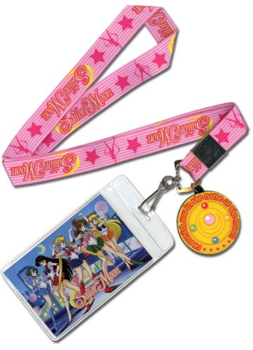 Great Eastern Entertainment Sailor Moon - Moon Broach Lanyard