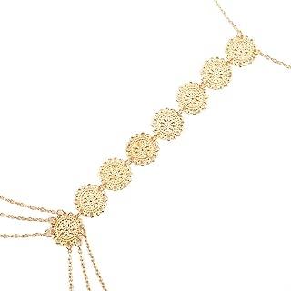 Fascigirl Body Necklace Retro Breast Chain Back Necklace Body Chain Necklace for Women