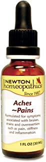 Newton Labs Homeopathic Aches Pains 1oz Liquid