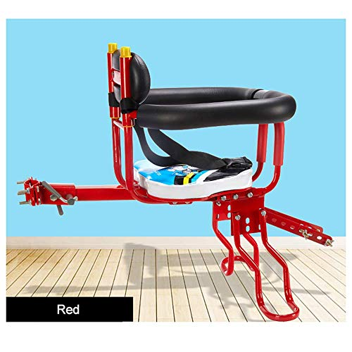 SBDLXY Asiento para niños, Asiento para niños de desmontaje rápido para Bicicletas, Coches eléctricos, Bicicletas de montaña, Edades 2-6
