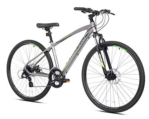 Giordano 700c Silver Brava Hybrid Bike