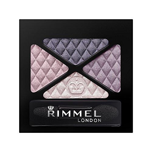 Rimmel London Glam'eyes Quad Eye Shadow, 3 Smokey Purple, 4.2 g