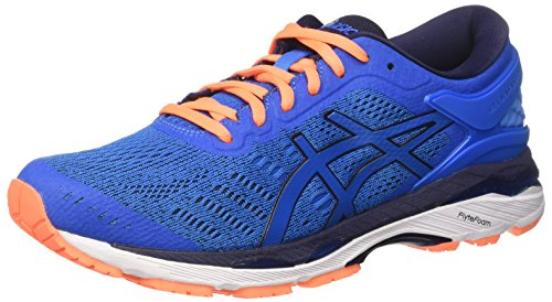 Asics Asics Herren Gel-Kayano 24 Laufschuhe, Blau (Directoire Blue/peacoat/hot Orange), 40 EU