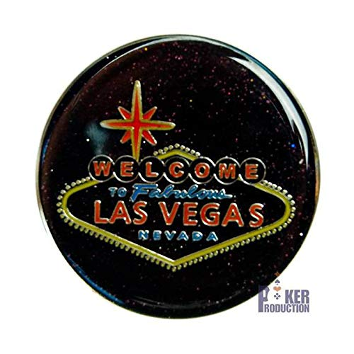 Poker Weight Card Guard Welcome Las Vegas - 2 Faces différentes - 50 mm