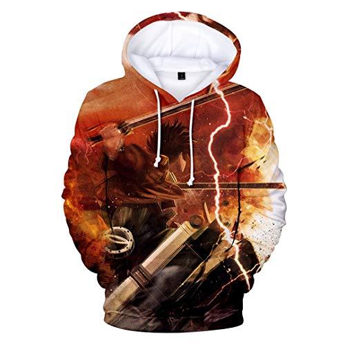 YOYOSHome Anime Attack on Titan Cosplay Eren Armin Mikasa Hoodie Jacket Costume Sweater Fleeces