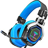 BENGOO Gaming Headset Headphones with Mic for PS4, Xbox One, PC, Controller Games