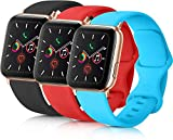 Unique Soft Silicone Strap Band Compatible for iWatch 42mm /44mm Apple Watch Series 1 / 2 / 3 / 4 /...